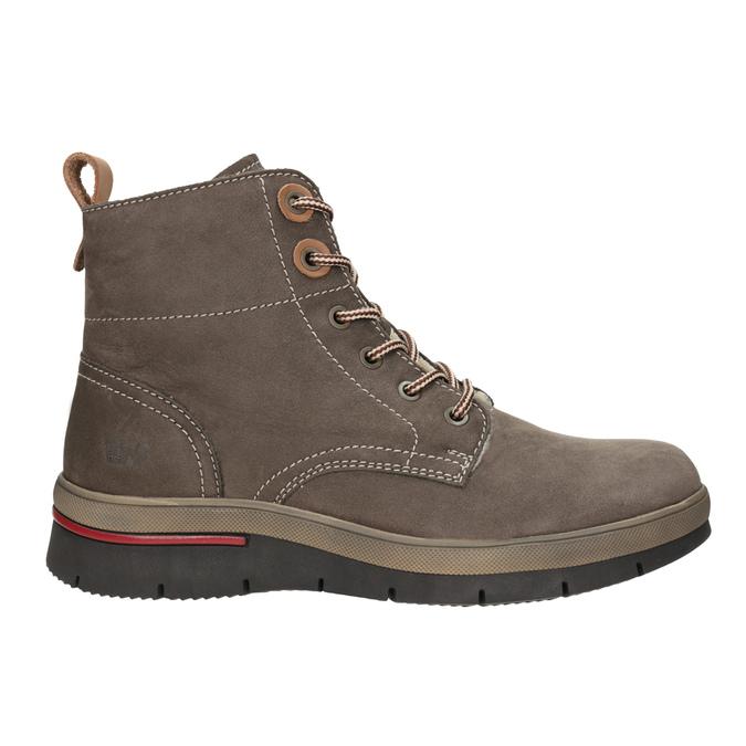 Kožená dámská zimní obuv weinbrenner, hnědá, 596-4666 - 26