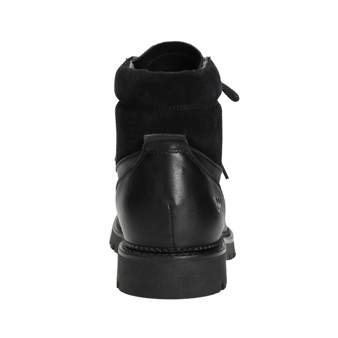 Dámská zimní obuv weinbrenner, černá, 596-6672 - 16