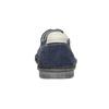 Neformální polobotky z broušené kůže bata, modrá, 853-9612 - 16