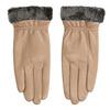 Dámské kožené rukavice béžové bata, béžová, 904-4112 - 26