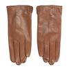 Hnědé kožené rukavice bata, hnědá, 904-3129 - 26