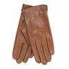 Hnědé kožené rukavice bata, hnědá, 904-3129 - 13