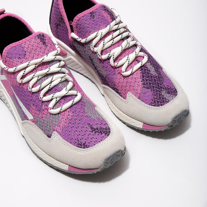 Růžové sportovní tenisky diesel, růžová, 509-5760 - 14