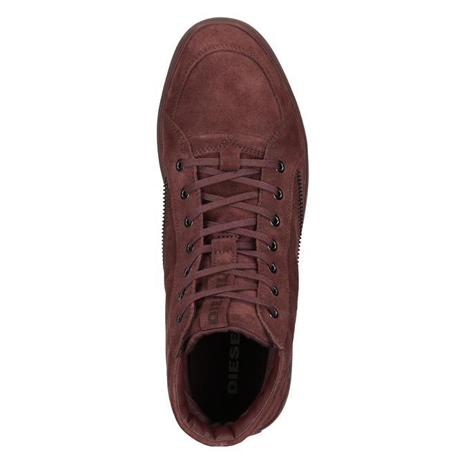 Kotníčková pánská obuv diesel, červená, 803-5629 - 15