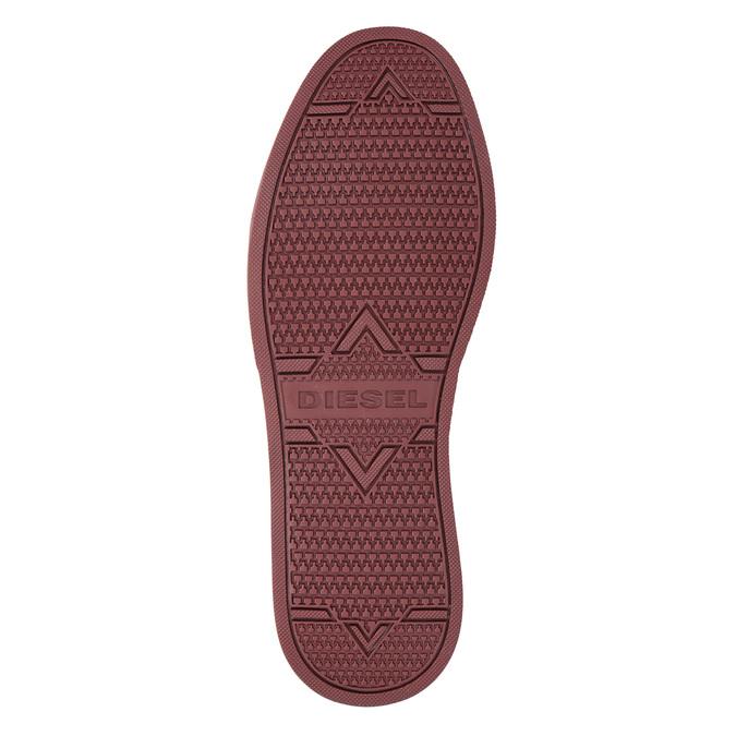 Kotníčková pánská obuv diesel, červená, 803-5629 - 17