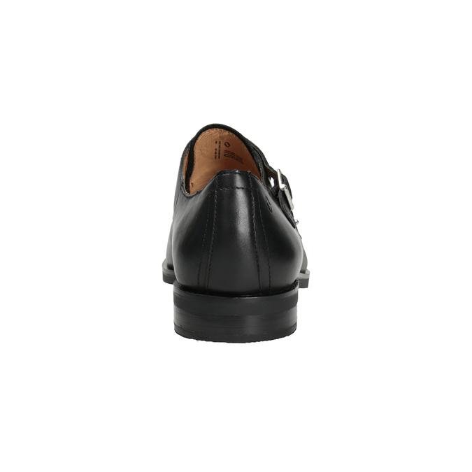 Pánské kožené Monk Shoes vagabond, černá, 814-6023 - 16