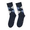 Pánské ponožky s anglickým vzorem bata, modrá, 919-9643 - 26