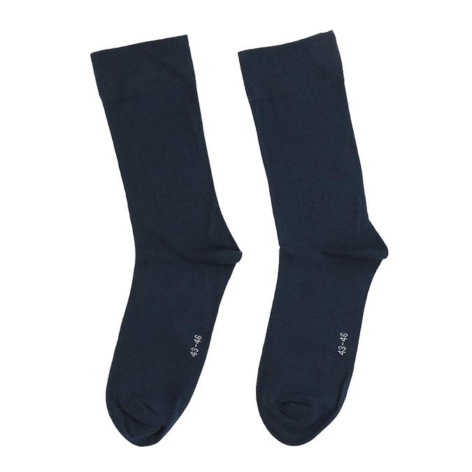 Pánské ponožky s anglickým vzorem bata, modrá, 919-9643 - 16