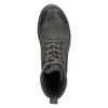 Kožená kotníčková obuv weinbrenner, šedá, 896-2703 - 15