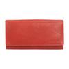 Dámská červená peněženka z kůže bata, červená, 944-3203 - 26