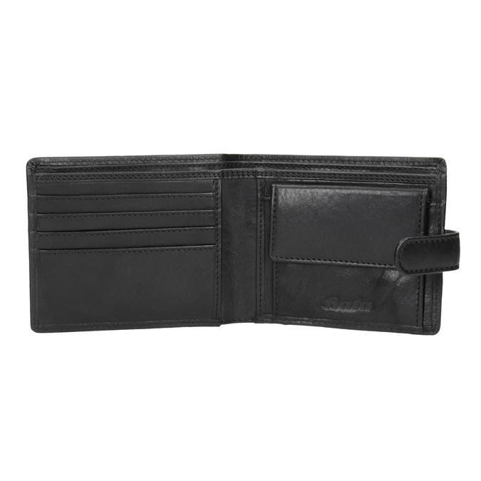 Dárkové balení kožený opasek a peněženka bata, černá, 954-6200 - 15