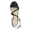 Dámské společenské sandály s kamínky bata, černá, 729-6611 - 15