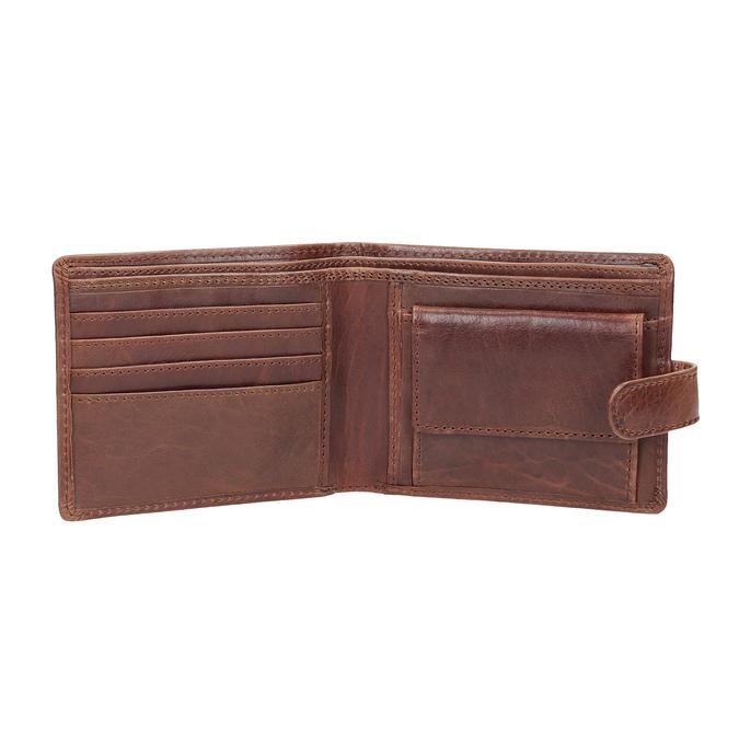 Dárkové balení kožený opasek a peněženka bata, hnědá, 954-3201 - 15