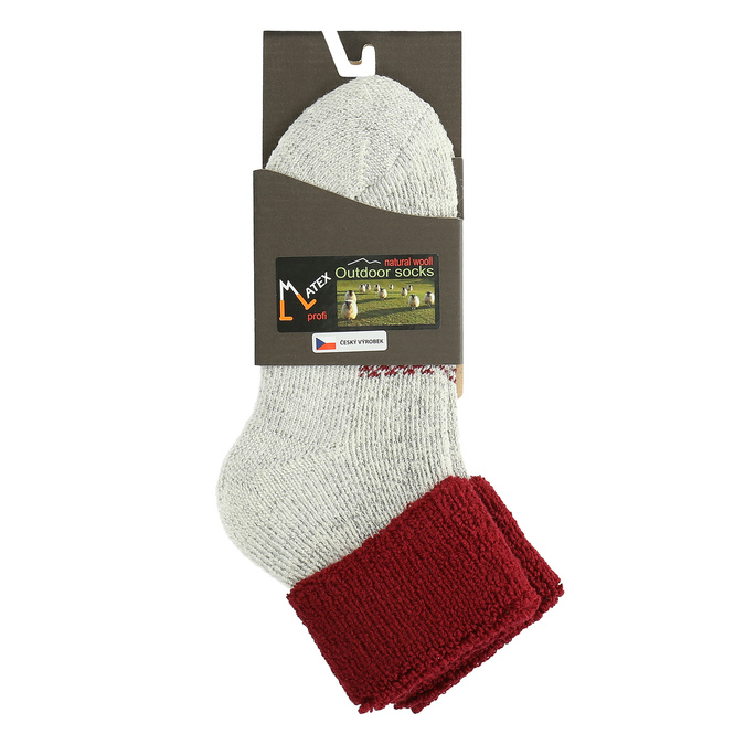 Teplé dámské ponožky matex, 919-5391 - 13