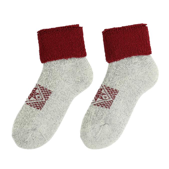 Teplé dámské ponožky matex, 919-5391 - 26