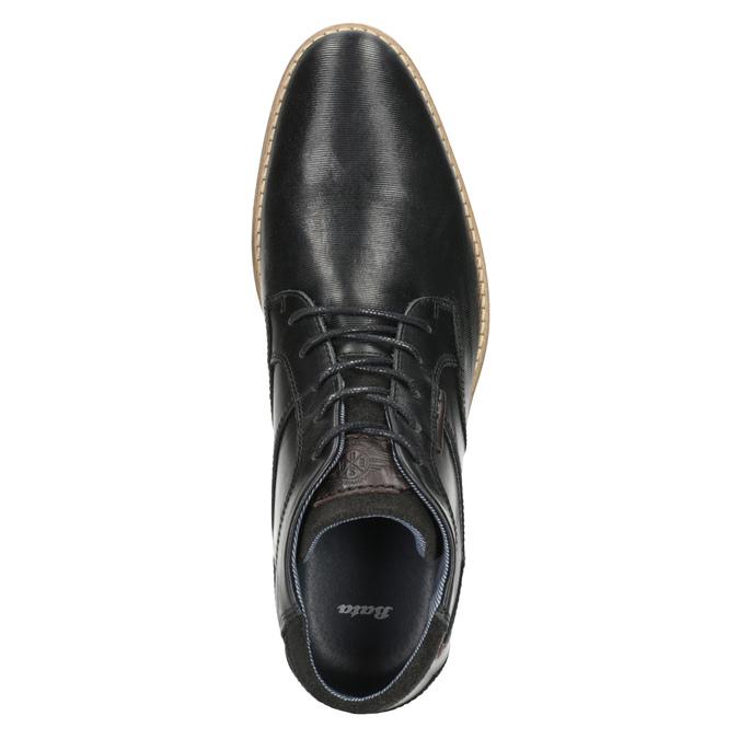 Kotníčková pánská obuv bata, černá, 826-6926 - 15