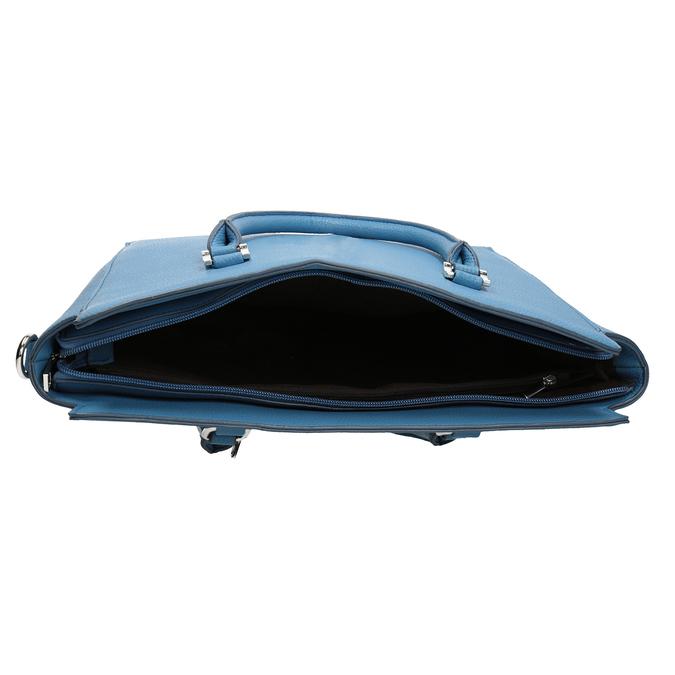 Modrá dámská kabelka bata, modrá, 961-9845 - 15