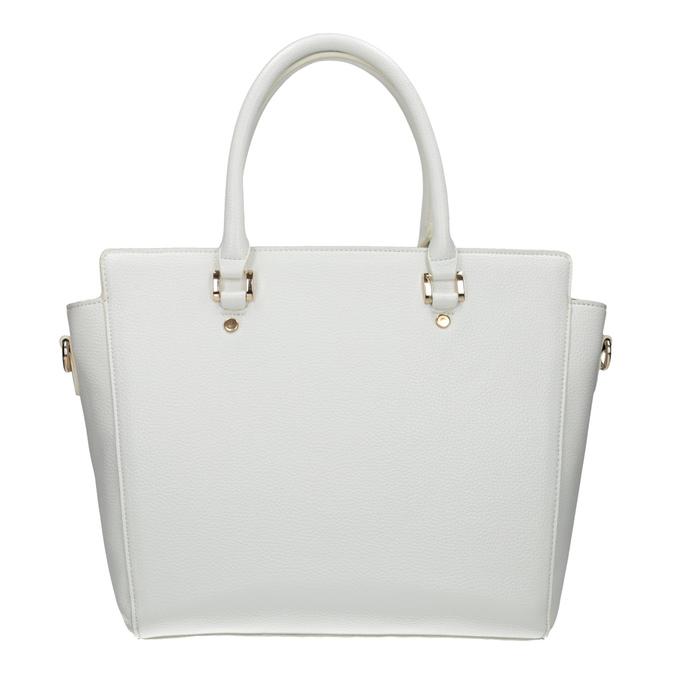 Bílá dámská kabelka bata, bílá, 961-1845 - 26