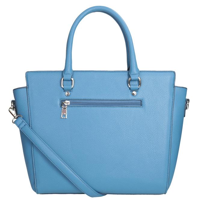 Modrá dámská kabelka bata, modrá, 961-9845 - 16