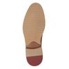 Kožené ležérní polobotky hnědé bata, hnědá, 826-3853 - 17
