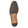 Hnědé kožené polobotky pánské bata, hnědá, 826-3997 - 17