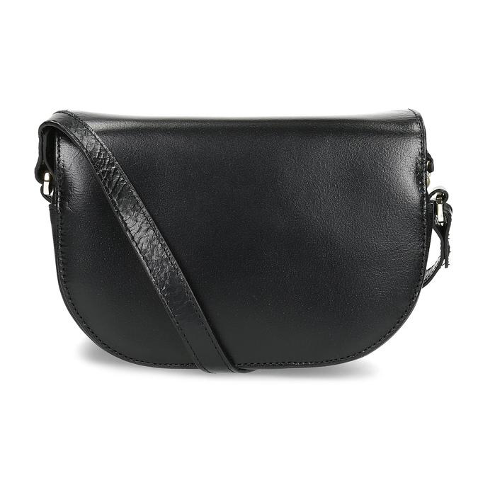 Kožená kabelka s klopou royal-republiq, černá, 964-6084 - 16