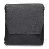 Kožená Crossbody taška royal-republiq, černá, 964-6093 - 26