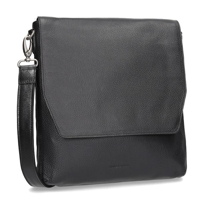 Kožená Crossbody taška royal-republiq, černá, 964-6093 - 13