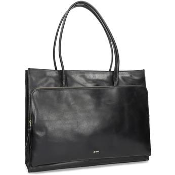 Kožená kabelka dámská royal-republiq, černá, 964-6066 - 13