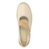 Dámské baleríny s páskem kožené bata, 526-8651 - 15