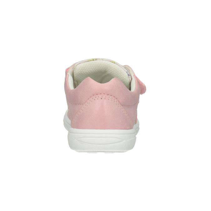 Růžové dívčí tenisky se vzorem mini-b, 221-5215 - 16