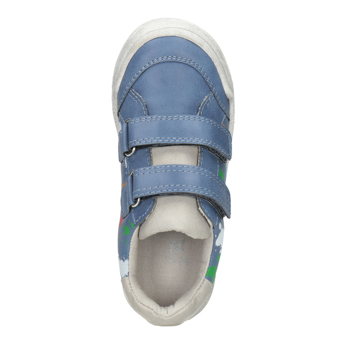 Modré tenisky s potiskem mini-b, modrá, 211-9218 - 15