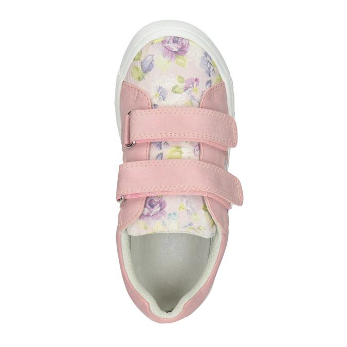 Růžové dívčí tenisky se vzorem mini-b, 221-5215 - 15