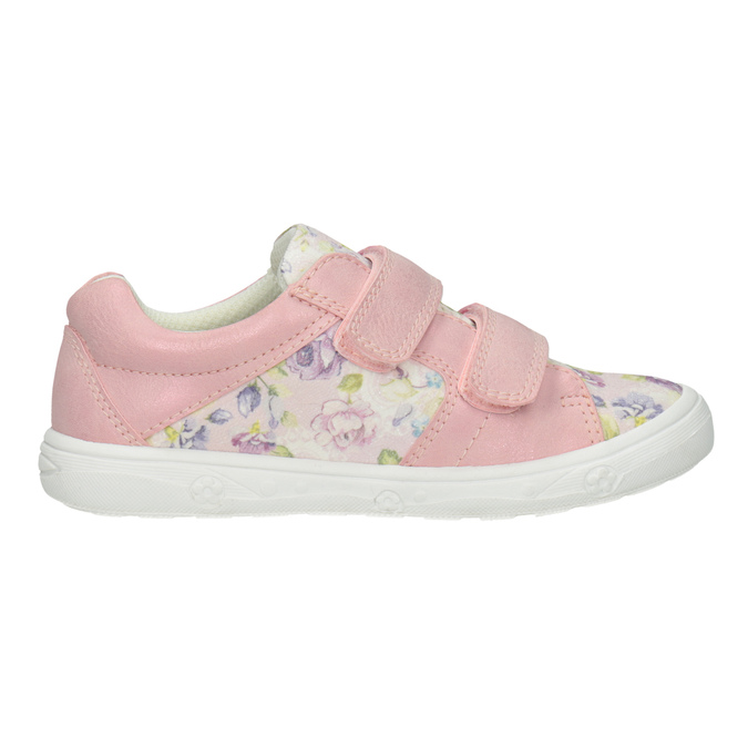 Růžové dívčí tenisky se vzorem mini-b, 221-5215 - 26