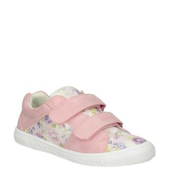 Růžové dívčí tenisky se vzorem mini-b, 221-5215 - 13