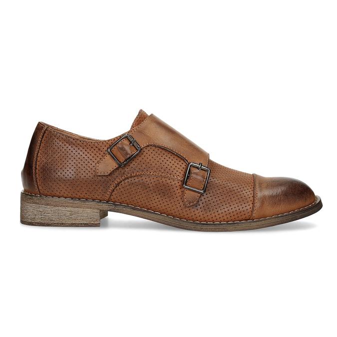 Dámské Monk Shoes bata, hnědá, 521-4609 - 19