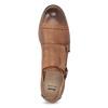 Dámské Monk Shoes bata, hnědá, 521-4609 - 17