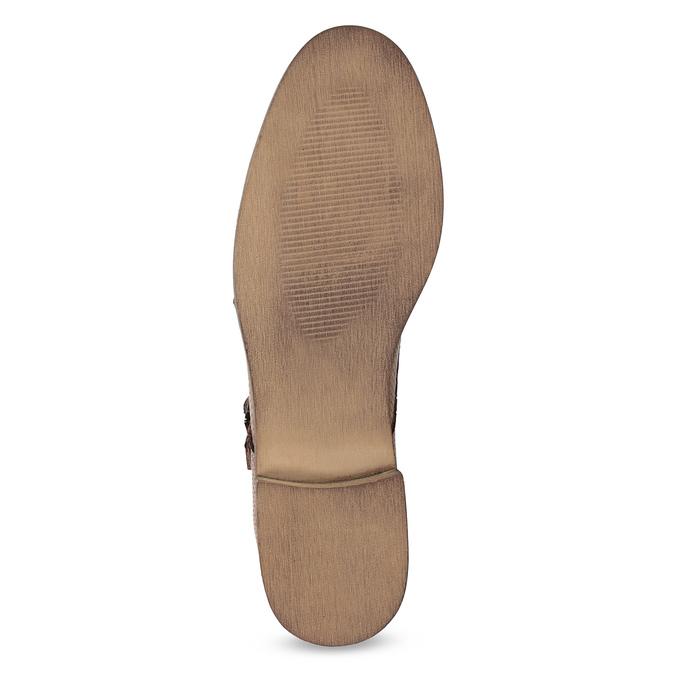 Dámské Monk Shoes bata, hnědá, 521-4609 - 18