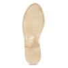 Dámské kožené polobotky v ležérním stylu bata, hnědá, 526-4652 - 18