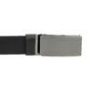 Kožený pánský opasek s hladkou sponou bata, černá, 954-6207 - 26