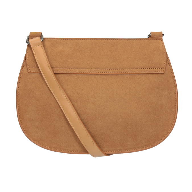 Crossbody kabelka s výšivkou bata, hnědá, 969-4686 - 16