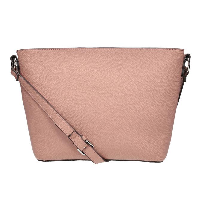 Dámská kabelka s prošíváním bata, růžová, 961-5842 - 16