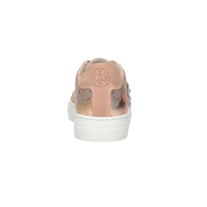 Kožené dívčí tenisky s květy mini-b, 326-5606 - 15