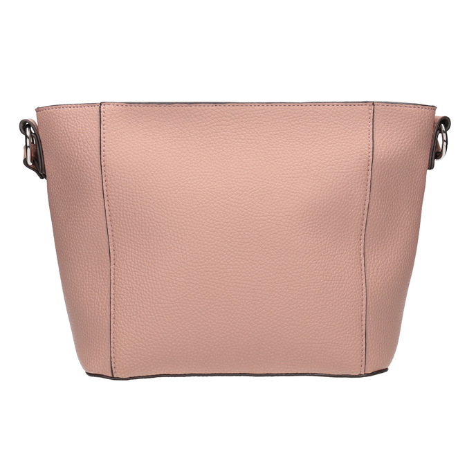 Dámská kabelka s prošíváním bata, růžová, 961-5842 - 26