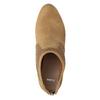 Hnědé kotníčkové kozačky na podpatku bata, hnědá, 791-3615 - 15