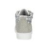 Kotníčkové tenisky s kamínky mini-b, šedá, 229-2107 - 15