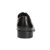Tmavě hnědé kožené polobotky bata, hnědá, 824-4983 - 16