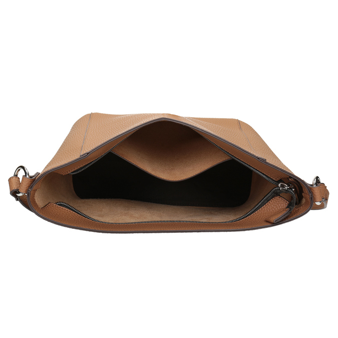 Hnědá dámská Crossbody kabelka bata, hnědá, 961-4842 - 15