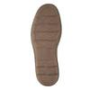Hnědé kožené pánské polobotky bata, hnědá, 826-4654 - 19