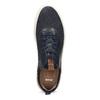 Ležérní kožené tenisky bata, modrá, 843-9637 - 17
